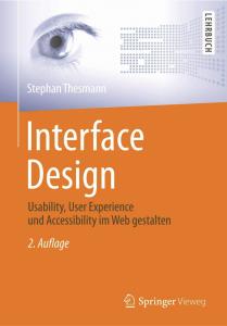 Book Interface Design